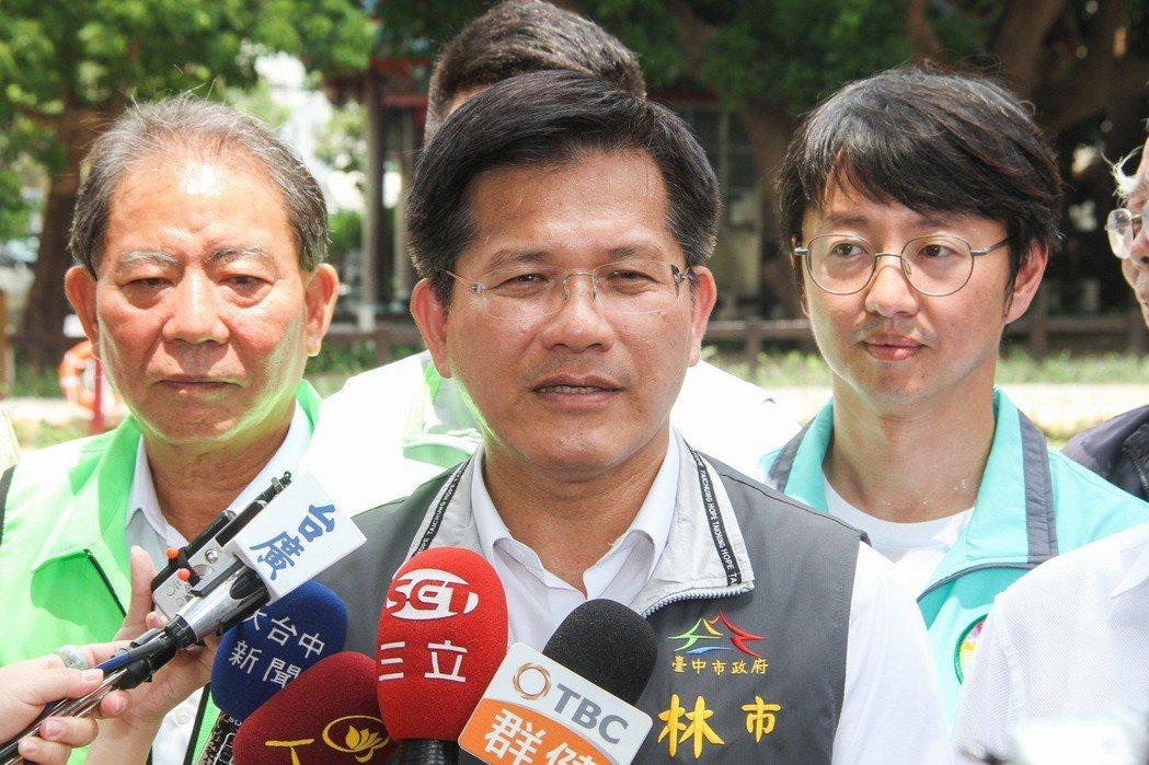 台中市長林佳龍。 圖/聯合報系資料照片