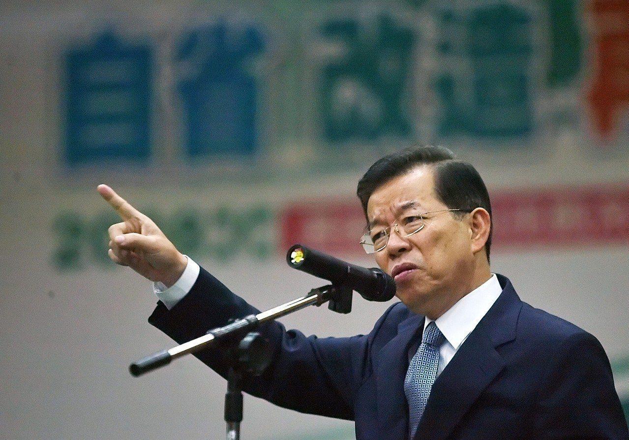我國駐日代表謝長廷。圖/聯合報系資料照