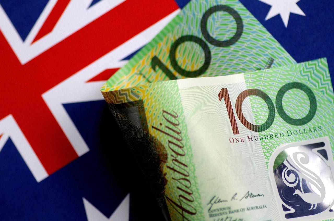 澳幣今年來對美元走弱反映內憂與外患。 路透