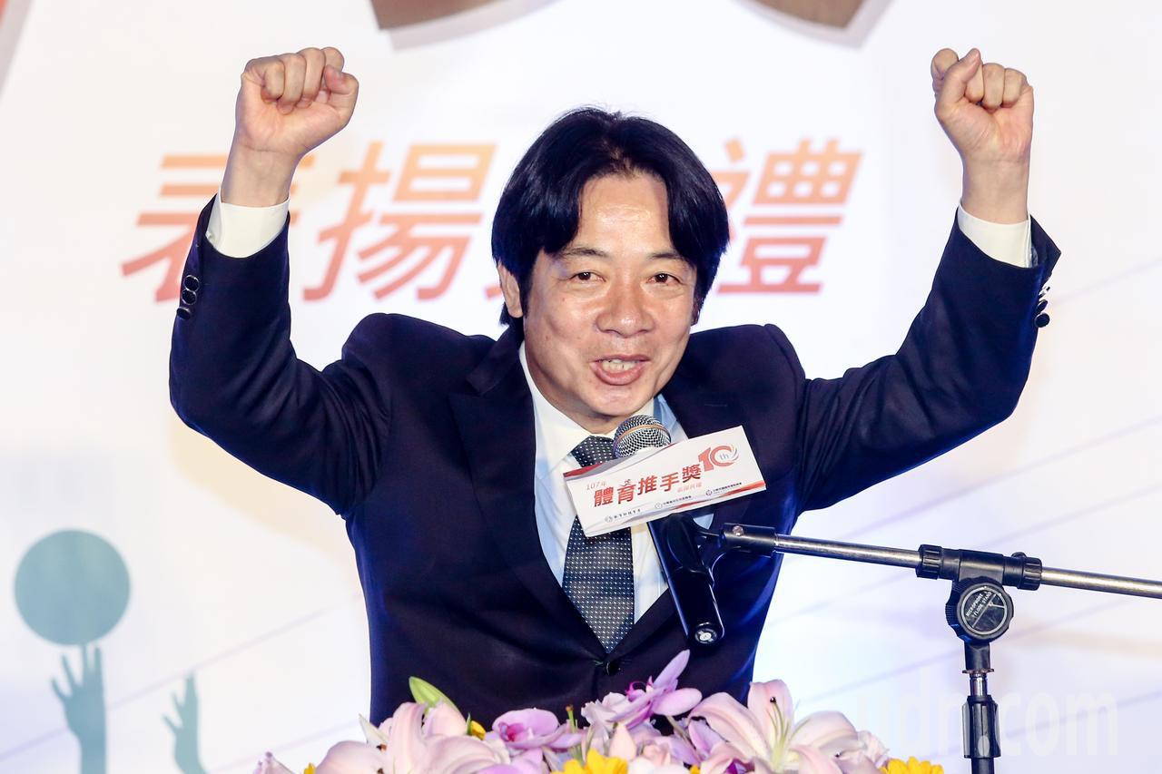 行政院長賴清德宣布將投入資金培育運動員。記者鄭清元/攝影