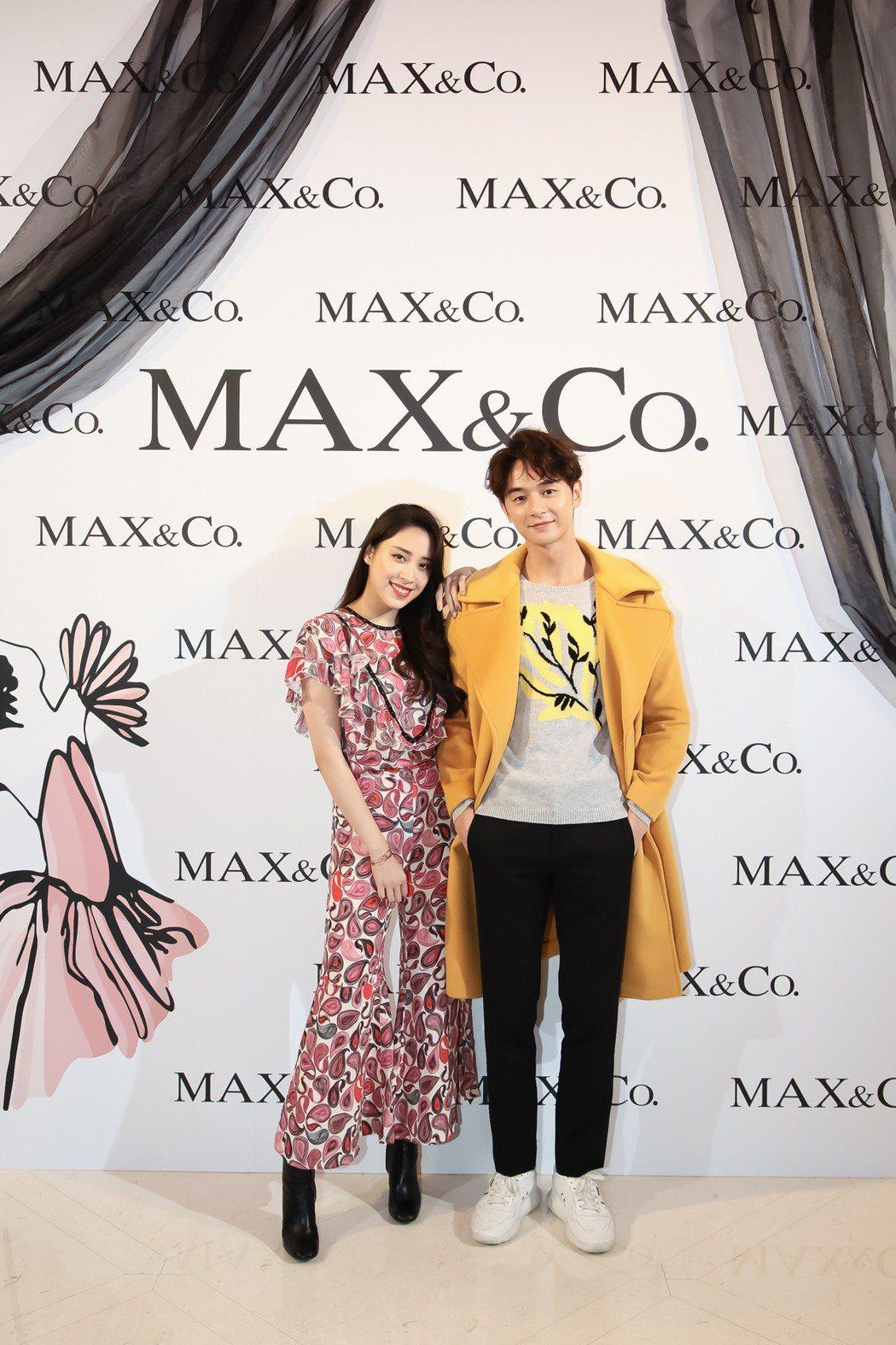 張軒睿、歐陽妮妮擔任走秀嘉賓。圖/MAX&Co. 提供
