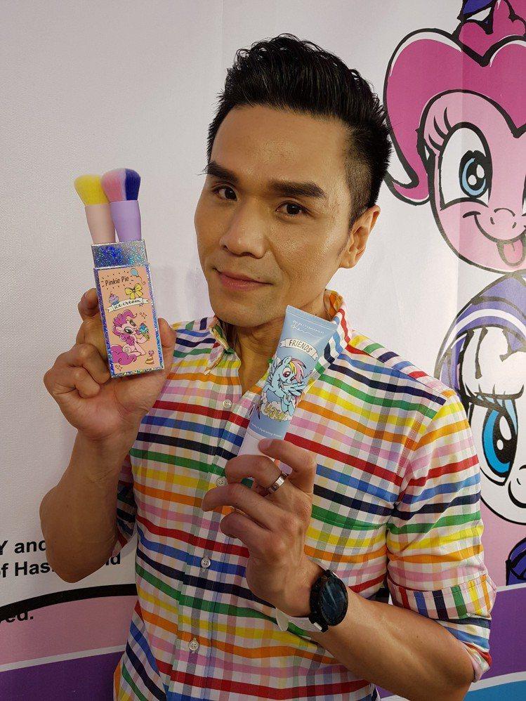 Kevin創立的BeautyMaker邁入第12周年,推出一系列明星商品彩虹小馬...