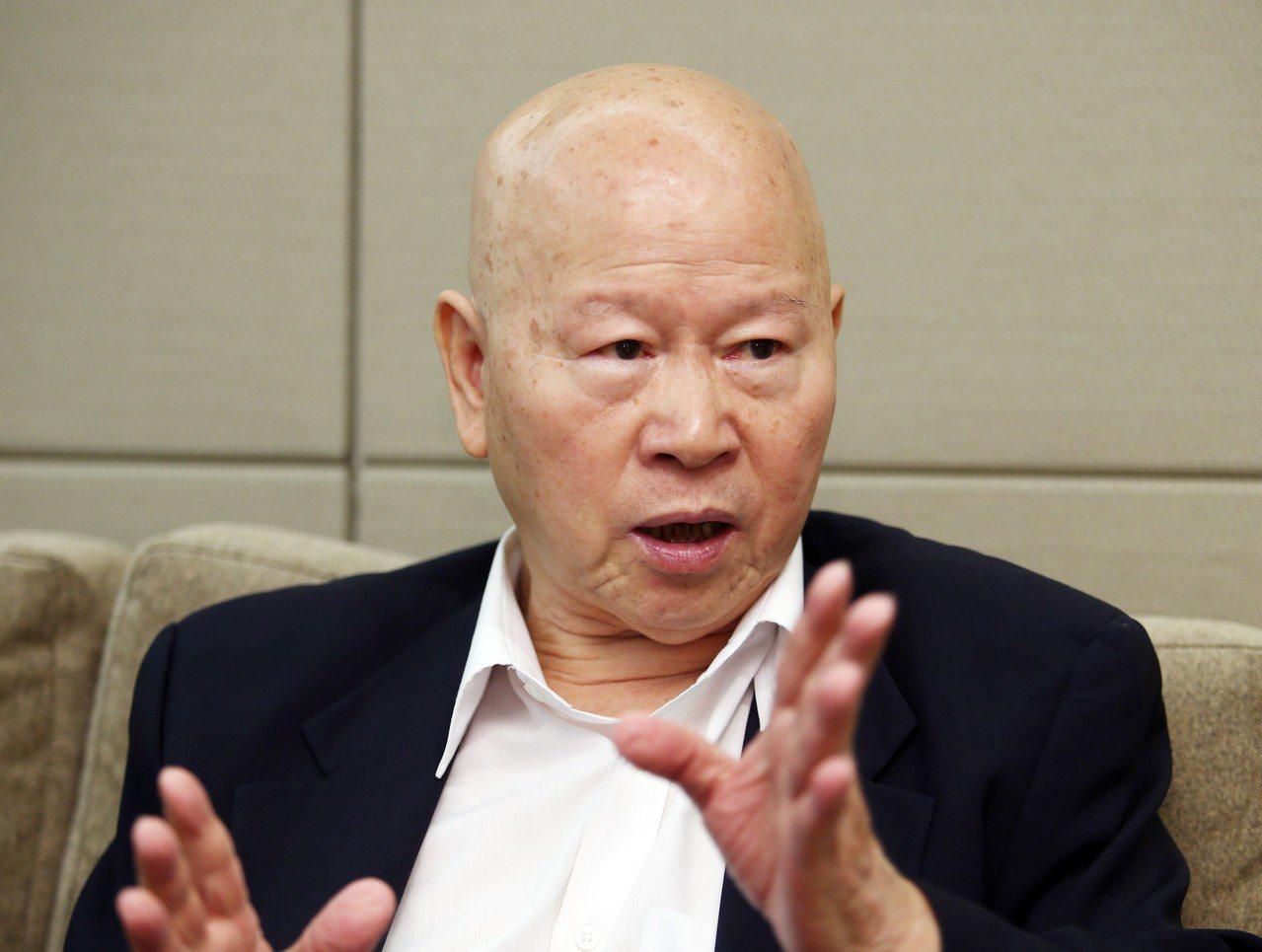 亞太和平研究基金會董事長許信良。聯合報資料照