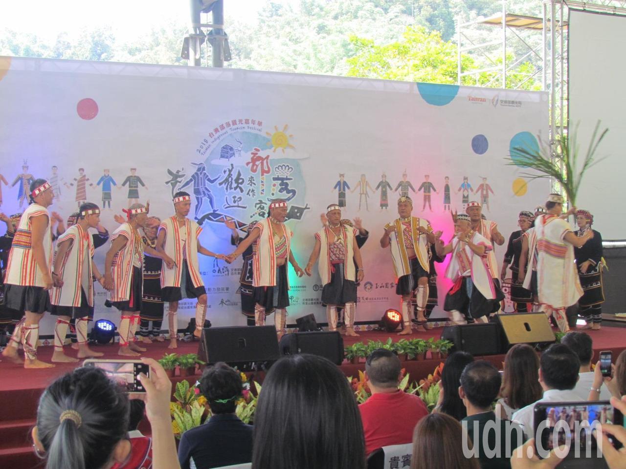「台灣部落觀光嘉年華」7日起在日潭展開三天的活動。記者張家樂/攝影