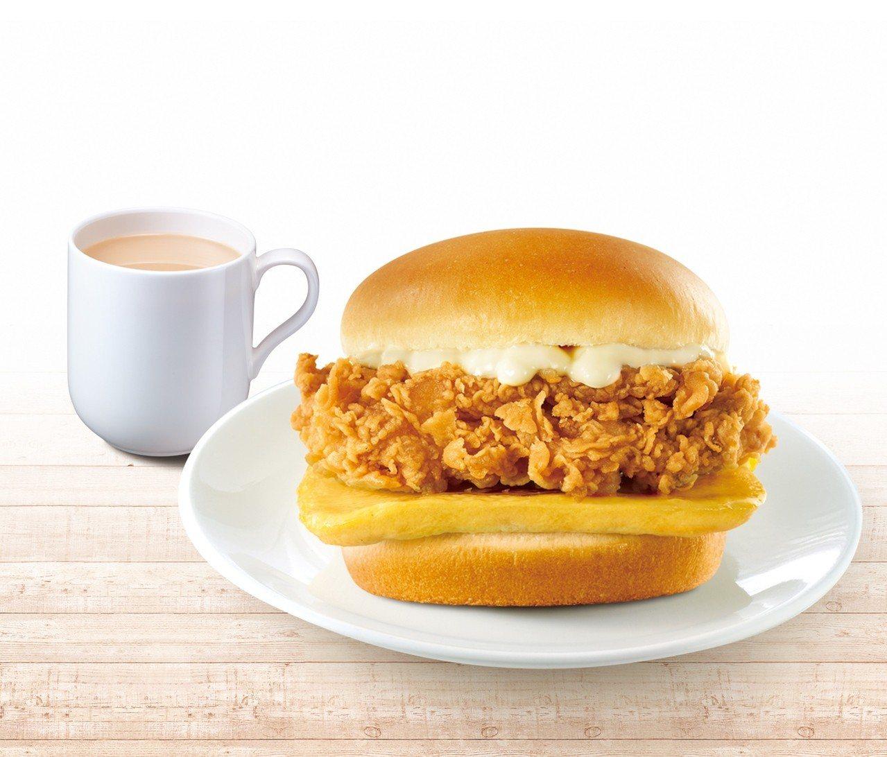 「吮指嫩雞蛋堡套餐」自9月4日至9月10日、10月2日至10月8日,優惠售價49...