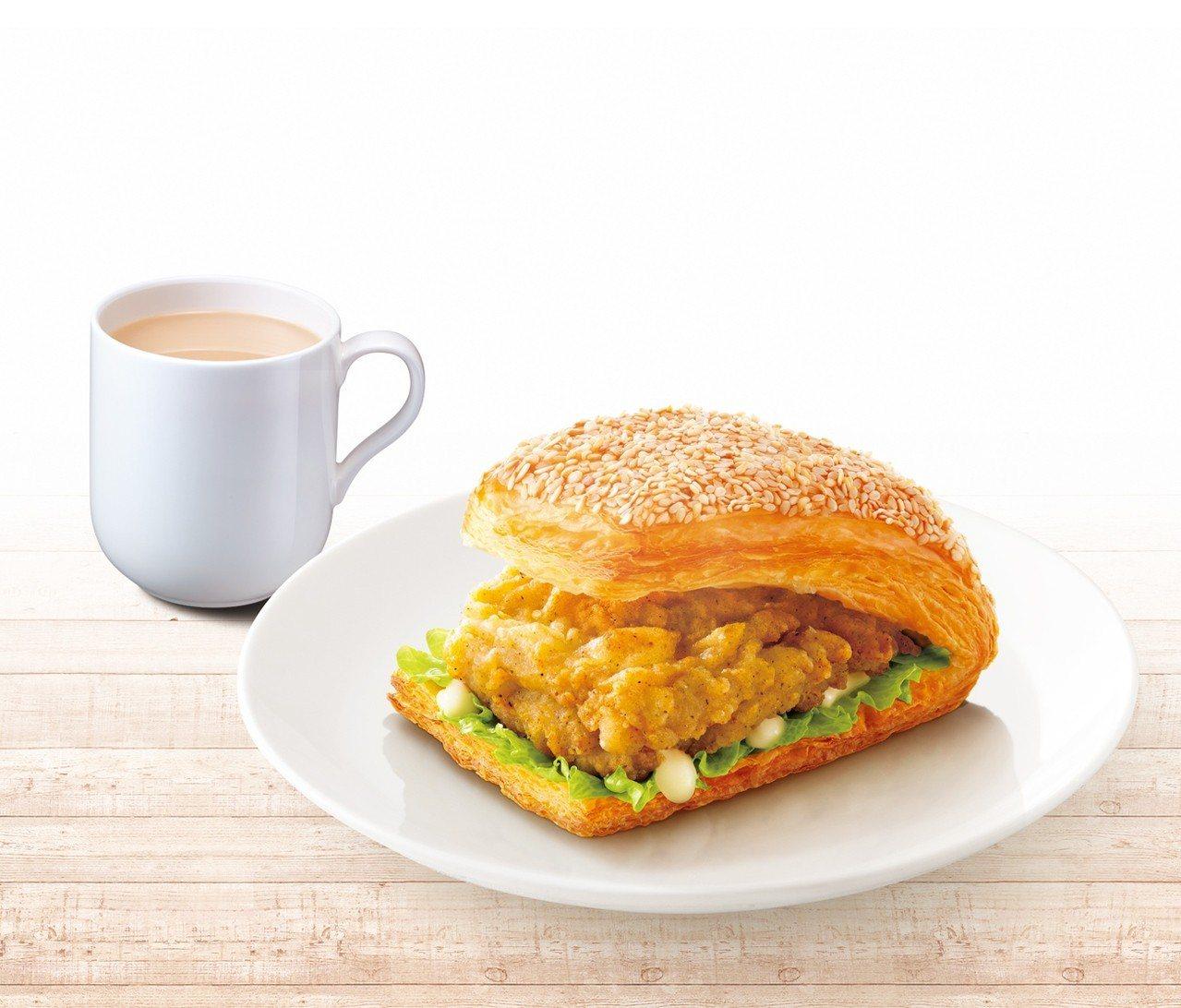 「吮指嫩雞燒餅套餐」自9月18日至9月24日、10月9日至10月15日,優惠售價...