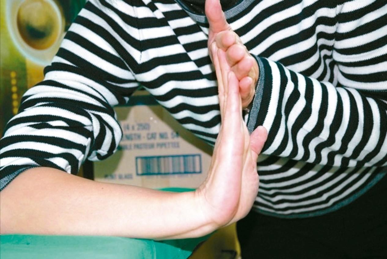 (圖4)手腕關節往上。 圖/張志豪醫師提供