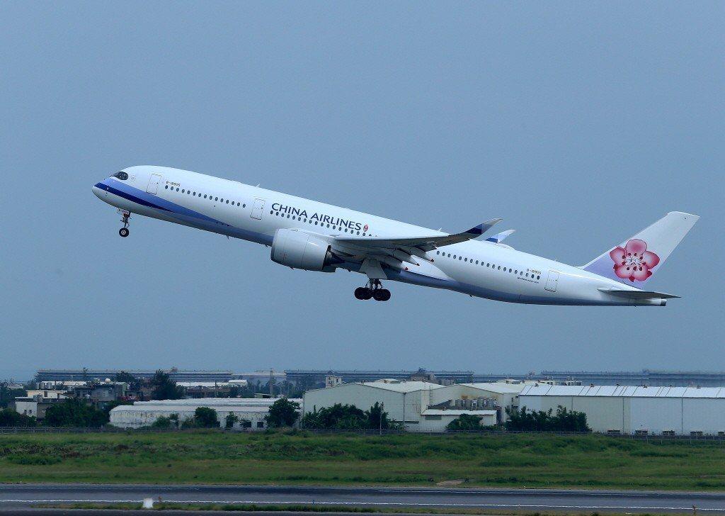 華航台北飛美班機,驚傳旅客死亡。圖非事件發生班機/本報系資料照片