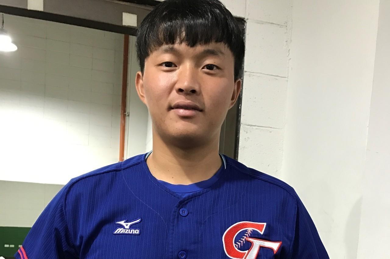 猿隊投手吳丞哲 報系資料照