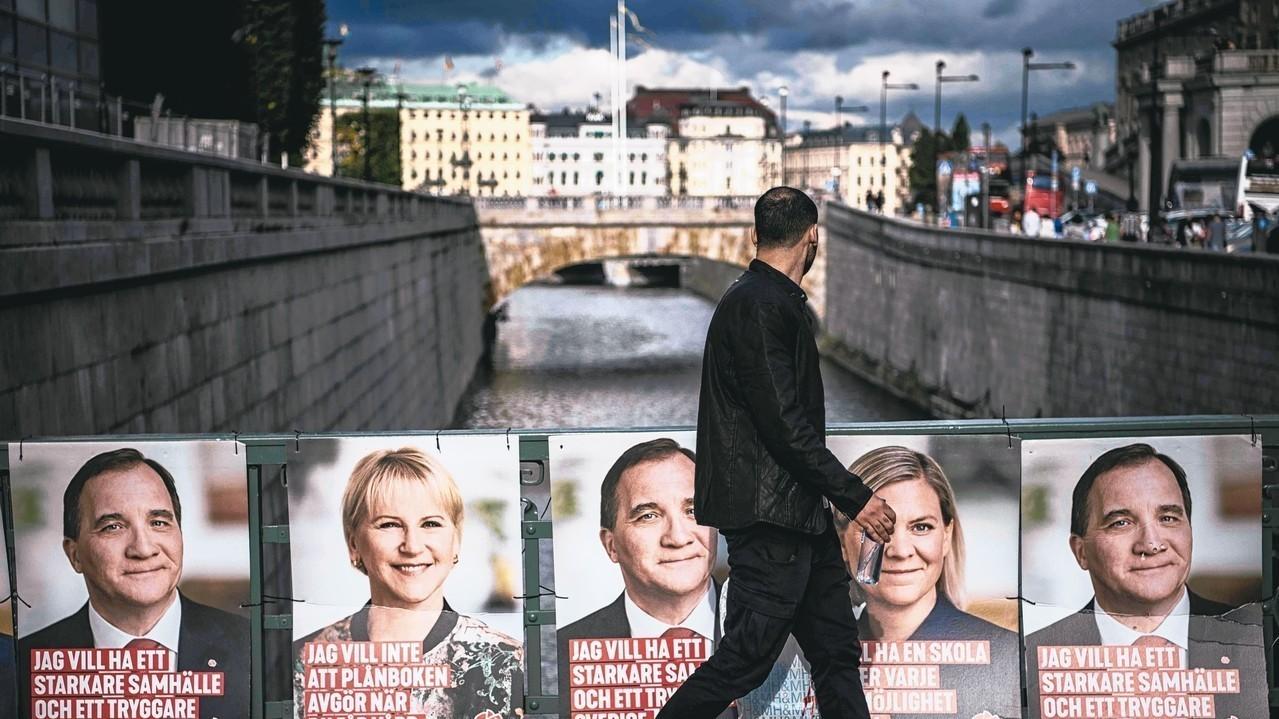 瑞典國會大選9日登場,高舉反歐盟、反移民大旗的極右派政黨瑞典民主黨近來聲勢扶搖直...