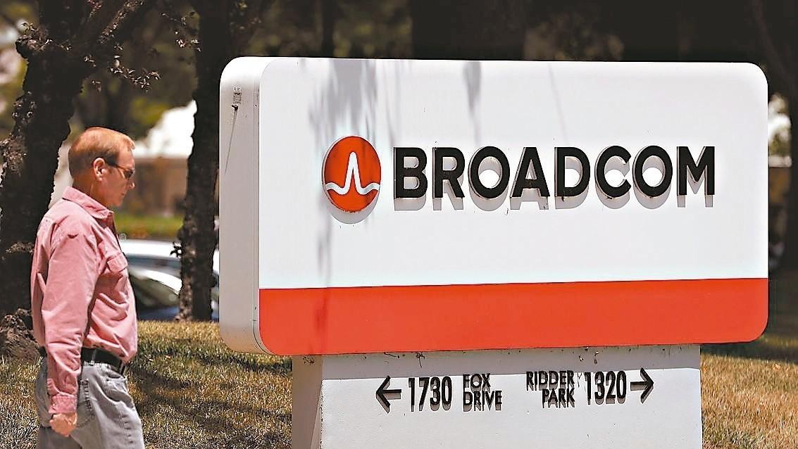 博通發布本季財測,今年第4季無線事業營收估增25%。 法新社