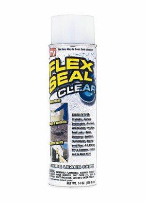 可填滿裂縫及漏水處的飛速防水填縫噴劑。 特力屋/提供