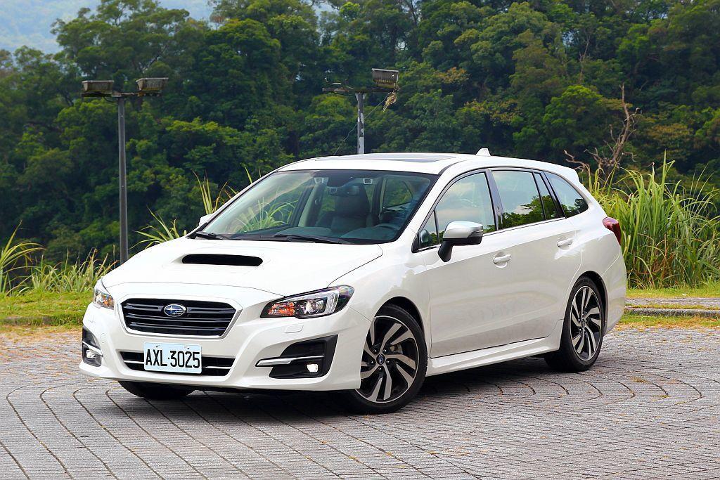 台灣現行販售的Subaru Levorg共有兩動力、三車型,不過是無法從外觀來分辨車型等級的。 記者張振群/攝影