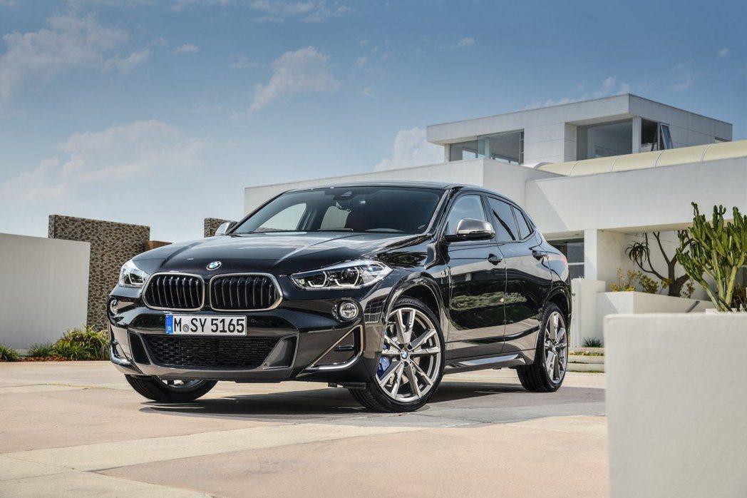 BMW X2 M35i。 摘自BMW