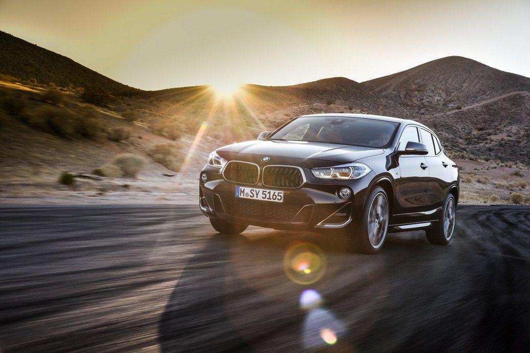 BMW X2 M35i將於今年11月正式量產。 摘自BMW
