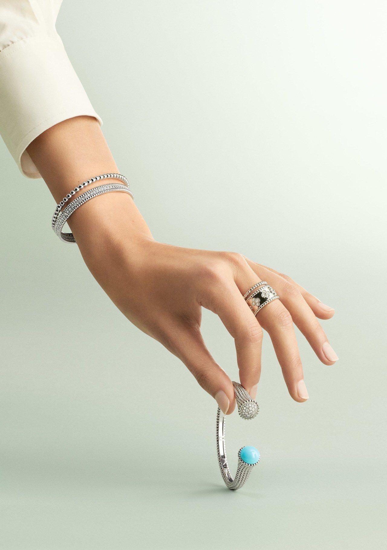 梵克雅寶推出全新的Perlée Couleurs與Perlée diamond...