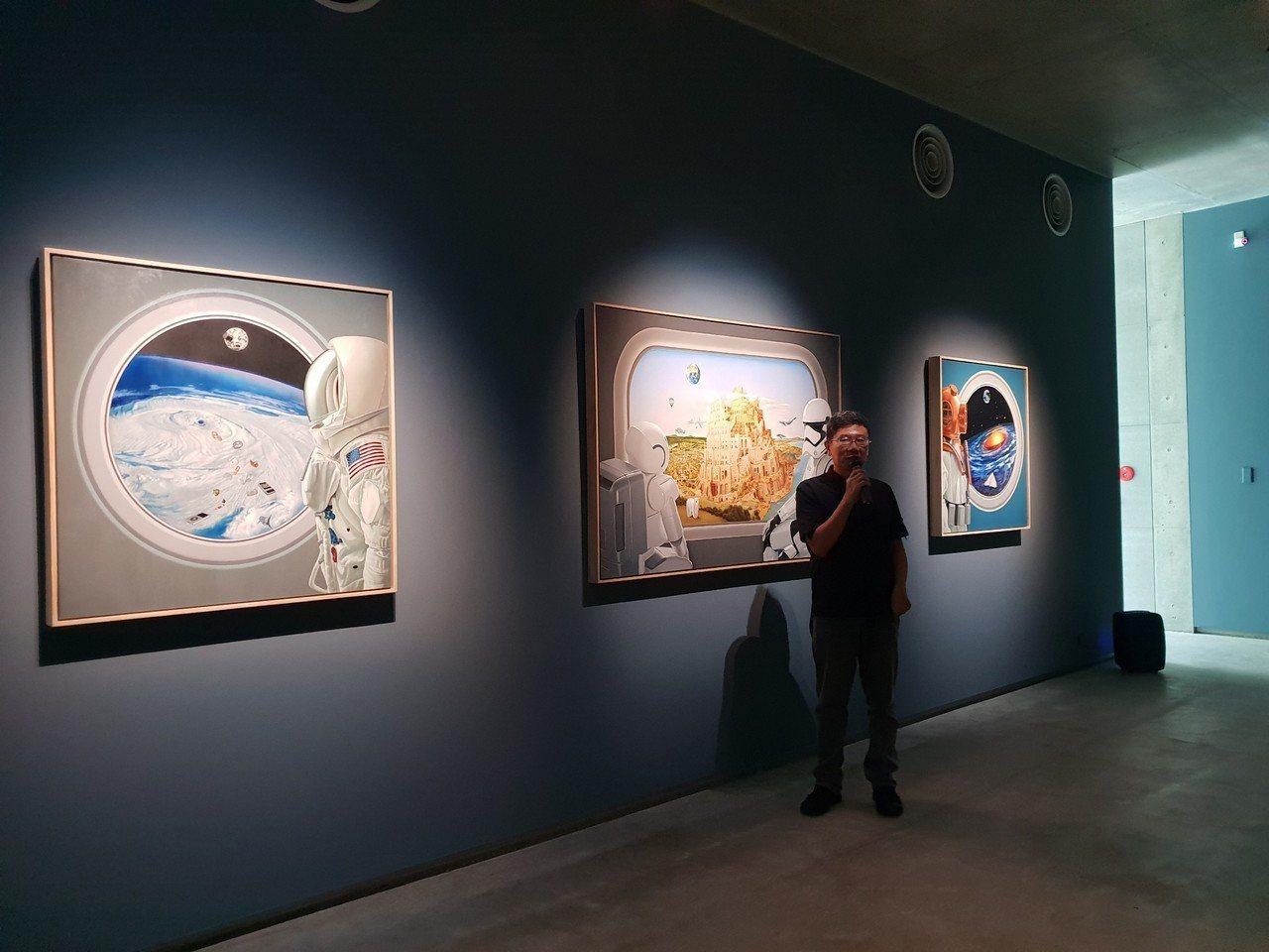 「捷克藝術家茲德涅克‧揚達-即興喜劇」展覽,今起在毓繡美術館登場,展至12月30...