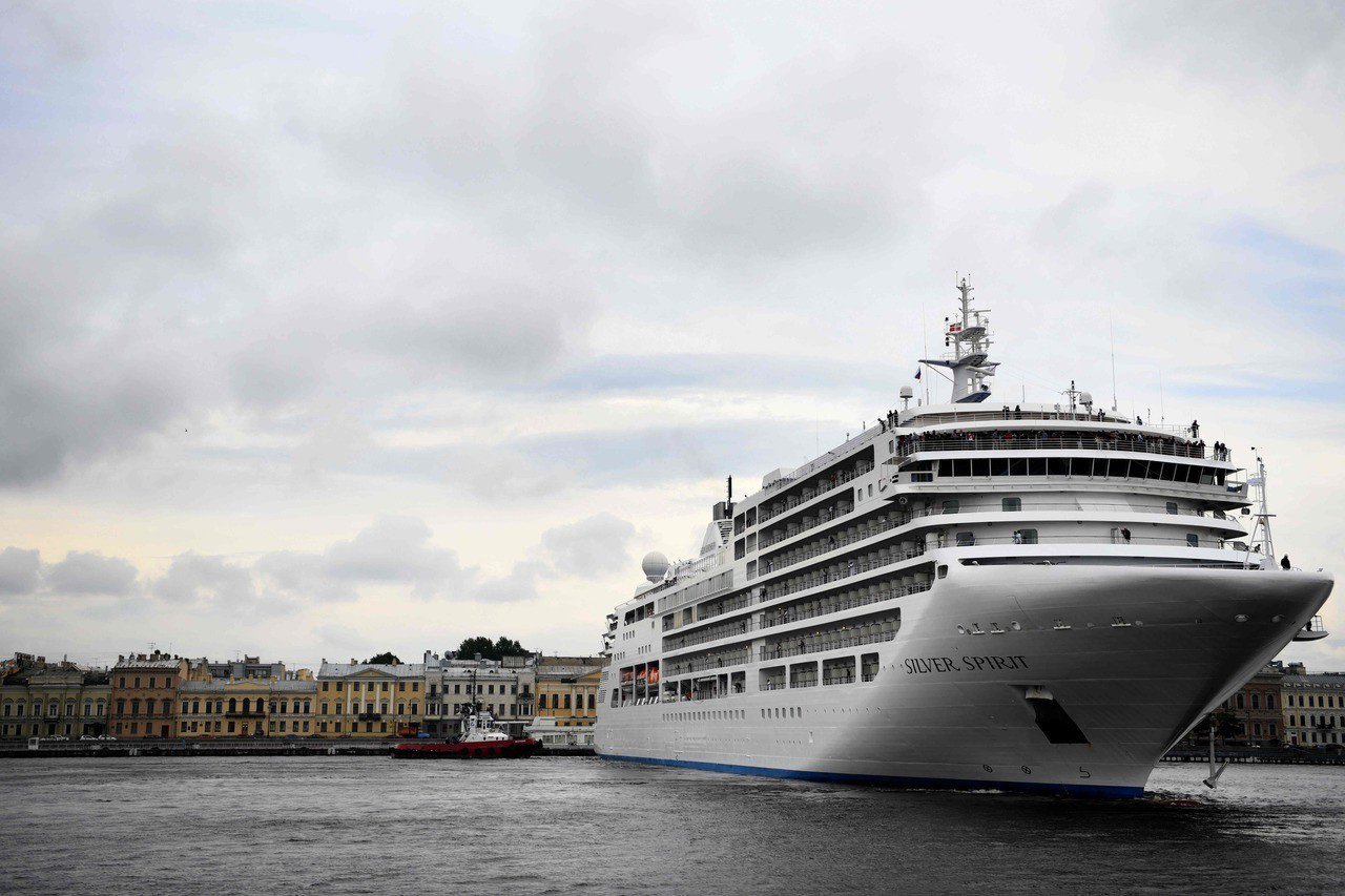 豪華郵輪開拓新航線,全球部分富裕旅客開始湧向紐西蘭。圖為經營紐西蘭航線的銀海郵輪...