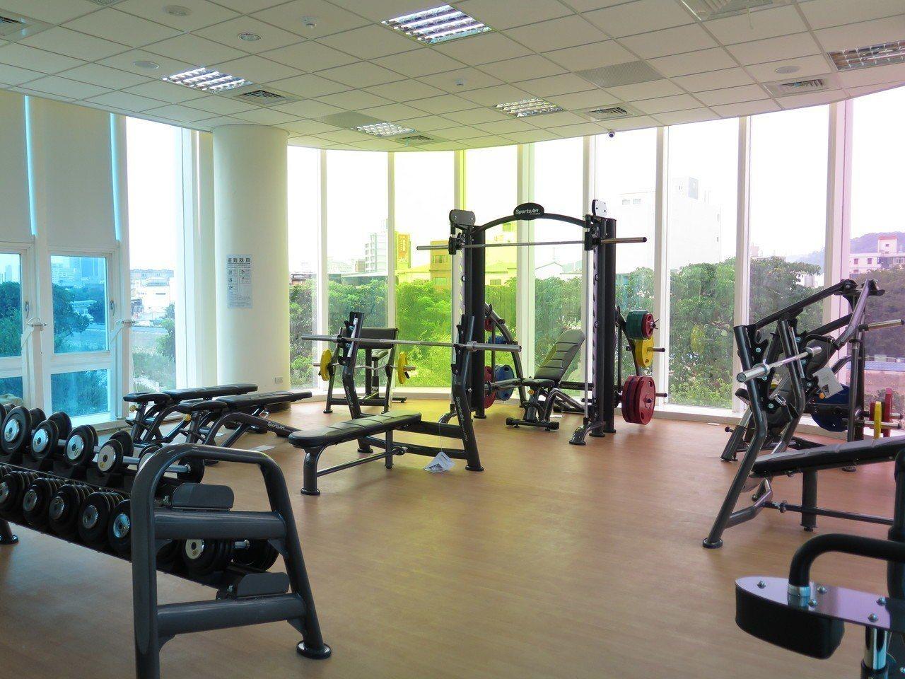 南平運動中心內有體適能中心等。記者張裕珍/攝影
