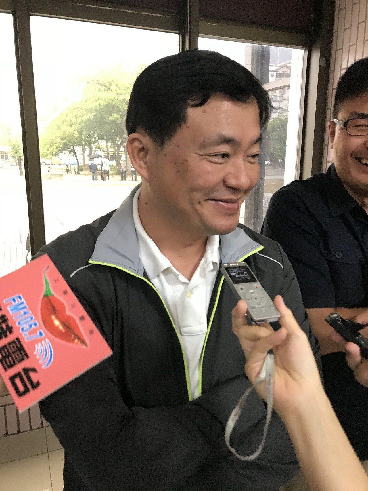 民進黨秘書長洪耀福談雲嘉嘉選情。記者姜宜菁/攝影