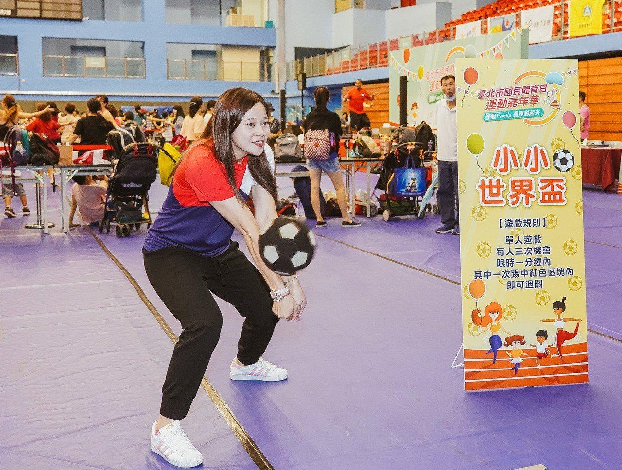 排球「自由女神」楊孟樺。圖/台北市政府體育局提供