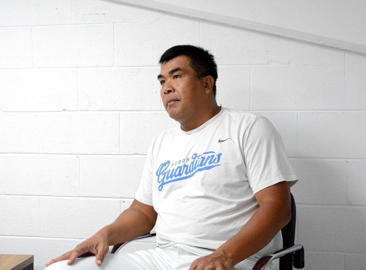 富邦悍將隊總教練陳連宏。 報系資料照