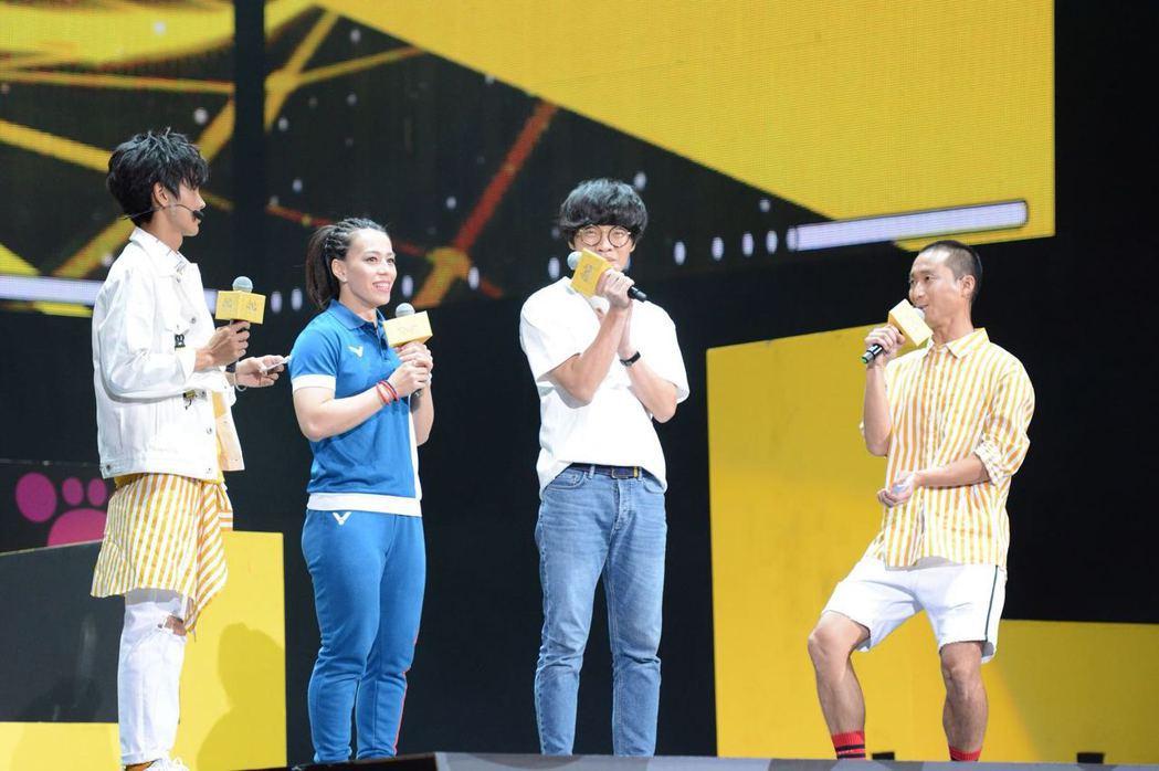 盧廣仲8日出席體育表演會當嘉賓。圖/經紀人提供