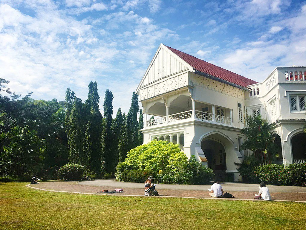 電影中的卡爾科薩內加拉酒店,為楊宋艾蓮娜的祖傳家產。圖/馬來西亞觀光局提供