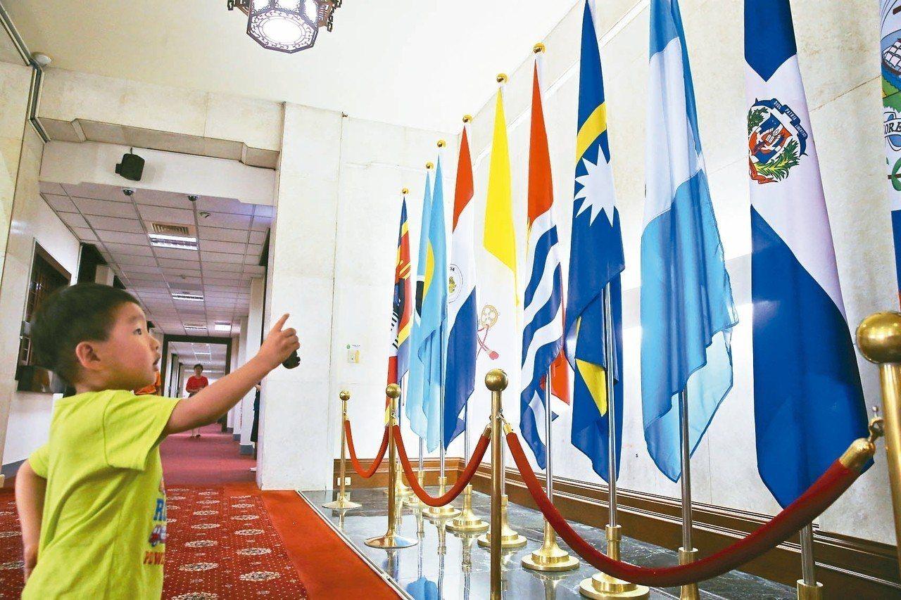 對於美國國務院召回使節,我總統府和外交部都表示,不評論個別措施。 圖/聯合報系資...