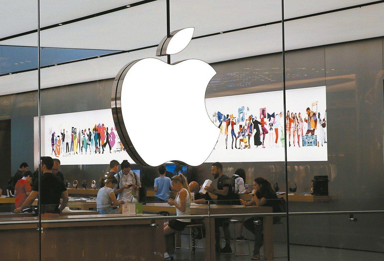 美中貿易戰火若持續擴大,可能連蘋果iPhone都會遭到課稅。 (路透)