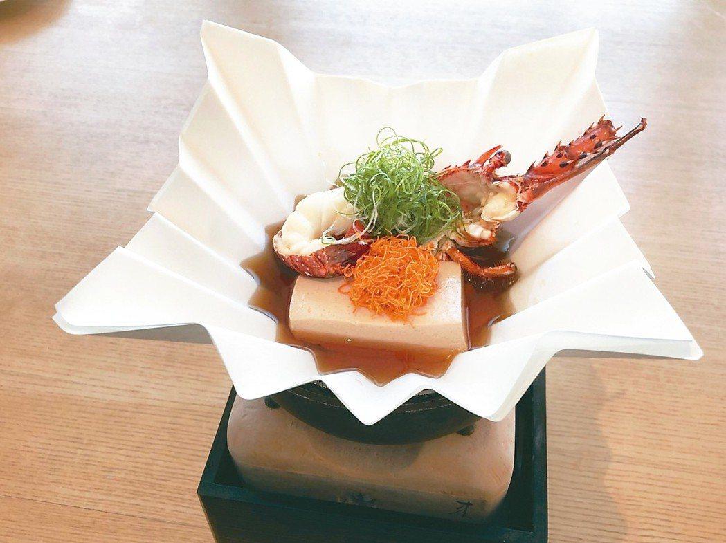 龍蝦豆腐煮 記者洪安怡/攝影