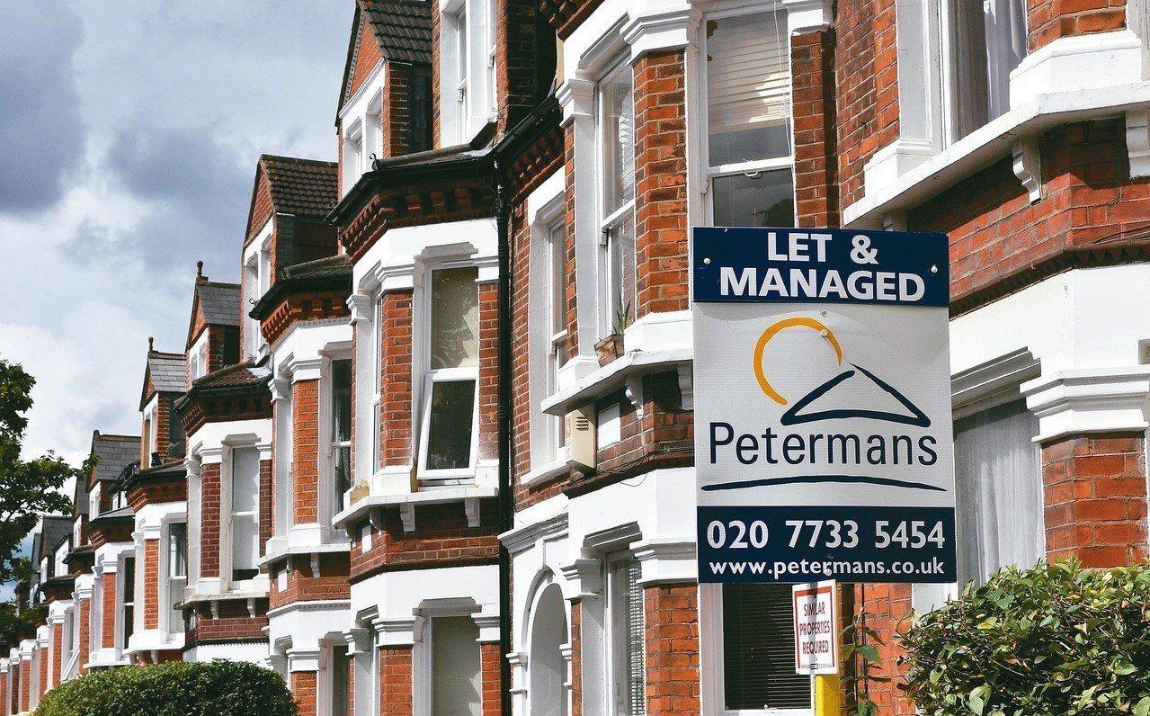 研究發現購買房屋租賃權的英國屋主,有超過一半並不了解買到的僅是使用權。圖為倫敦房...