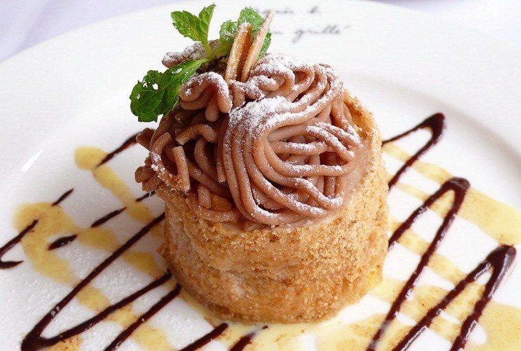 栗子蛋糕。報系資料照