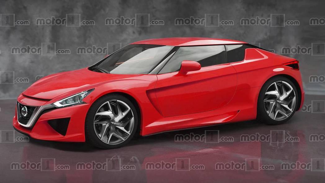 Motor1下一代Z-car的預想圖。 摘自Motor1