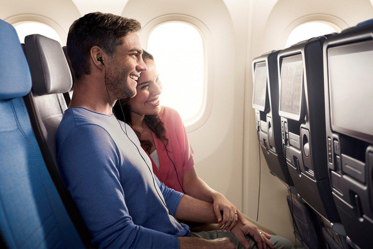 新航經濟艙。新加坡航空/提供