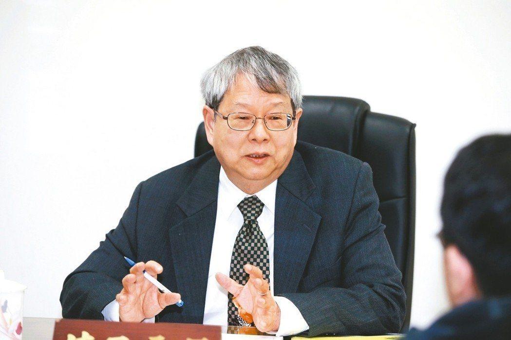 監察委員陳師孟。聯合報系資料照
