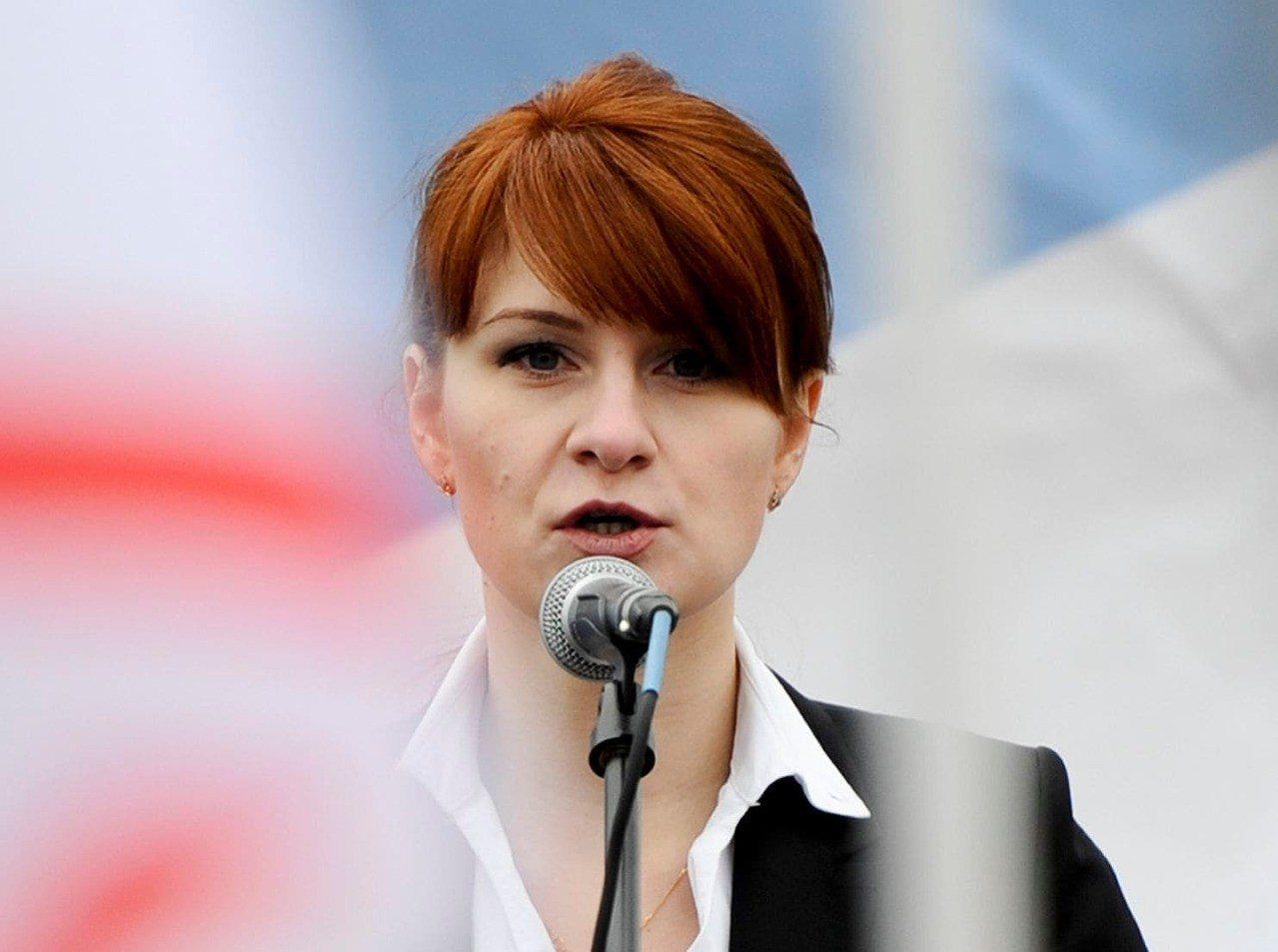 俄羅斯女子布提納被指為是俄羅斯間諜。美聯社