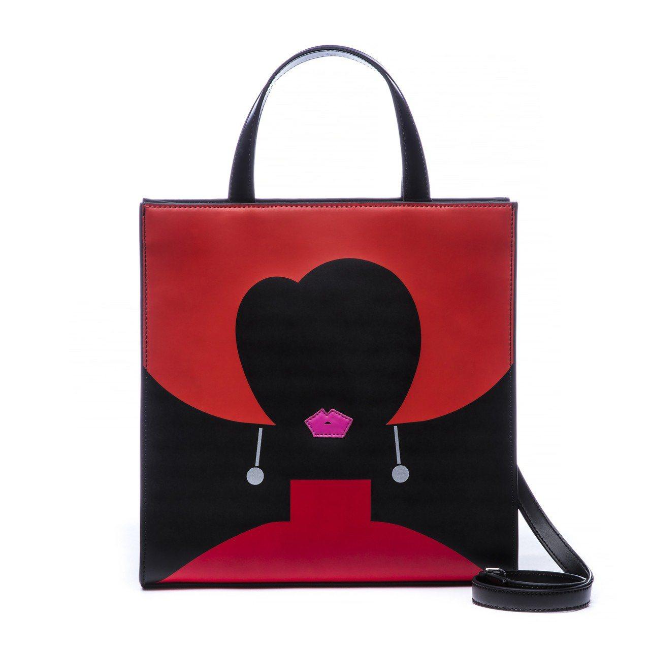 HEART FACE系列以「花樣年華」張曼玉飾演的蘇麗珍作為設計主題,手提包14...