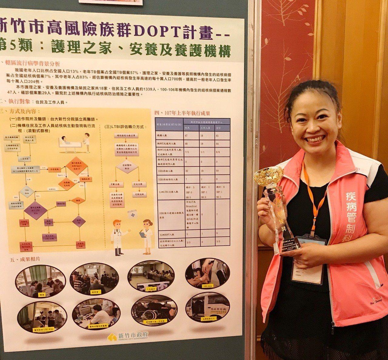 新竹市護理師呂淑雅,從事結核病防治工作整整17年,不畏懼結核病可能帶來的傳染隱憂...