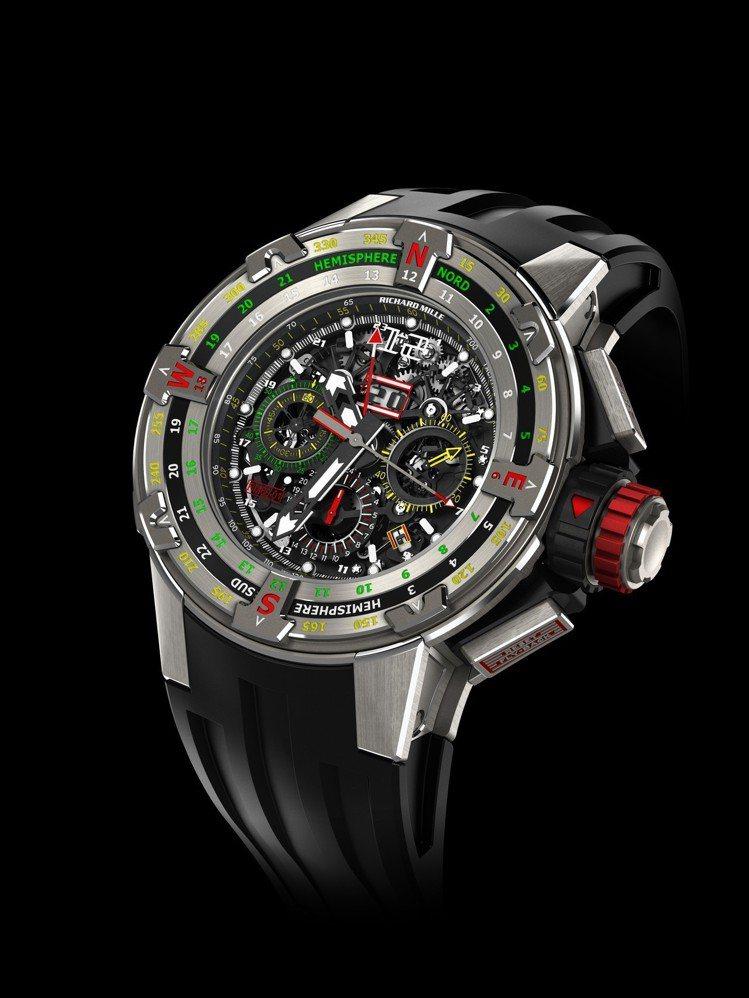 RICHARD MILLE RM 60-01 Regatta飛返計時碼表,鈦金屬...