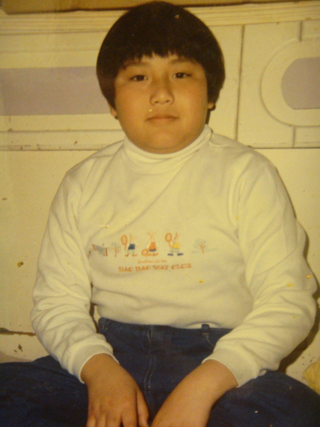 張睿家小時候是胖弟。圖/周子娛樂提供