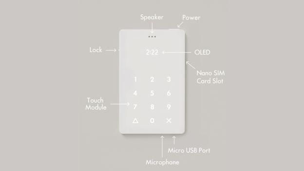 Light Phone只能用來打電話和接聽電話。(取材自BBC中文網)