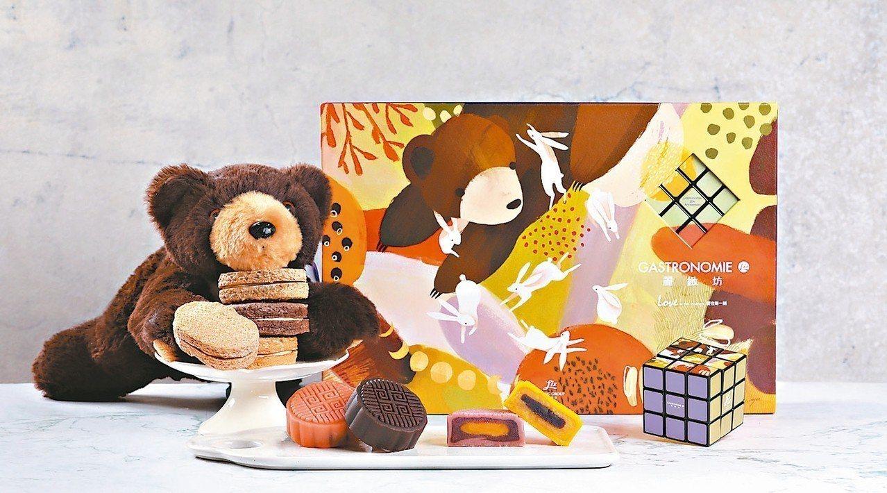麗緻餐旅集團首度把中秋禮盒融入魔術方塊,翻轉可組成藝術畫作,可欣賞又饒富樂趣。 ...