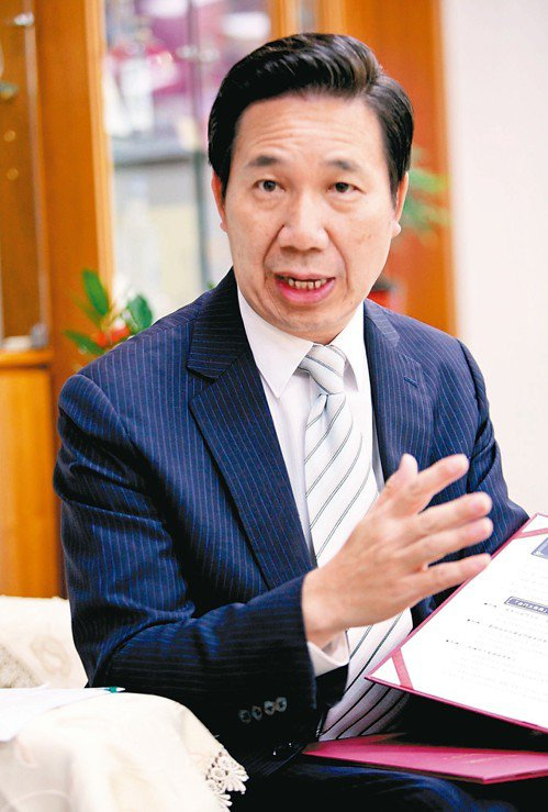 對於兩岸經貿發展,金門縣長陳福海說「金門準備好了」。 記者葉英豪/攝影