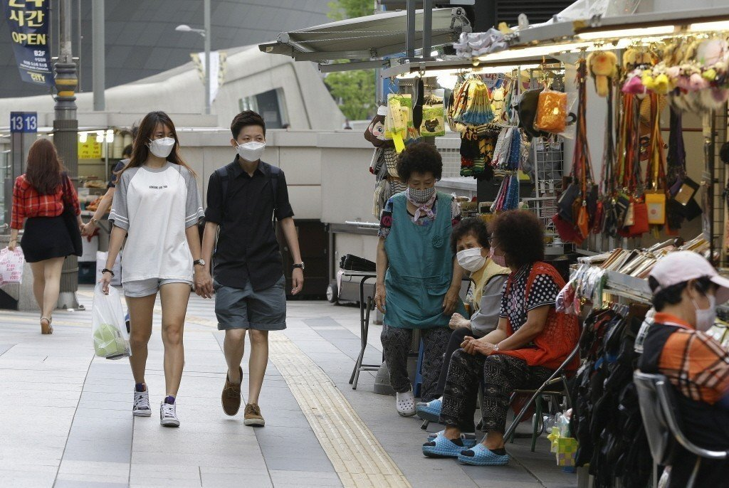 南韓再現中東呼吸症候群冠狀病毒感染症(MERS)個案。(美聯社)