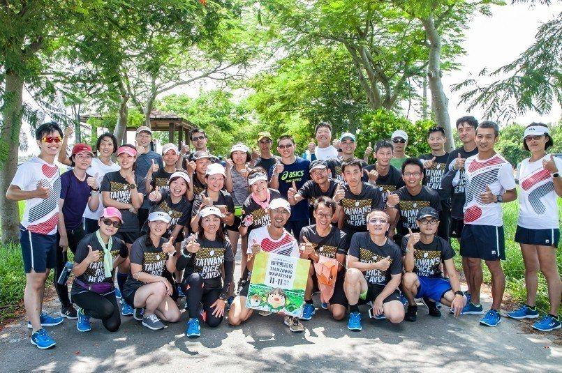 田中初半馬官方訓練營十公里測驗賽大成功 (圖片來源:跑步學堂)