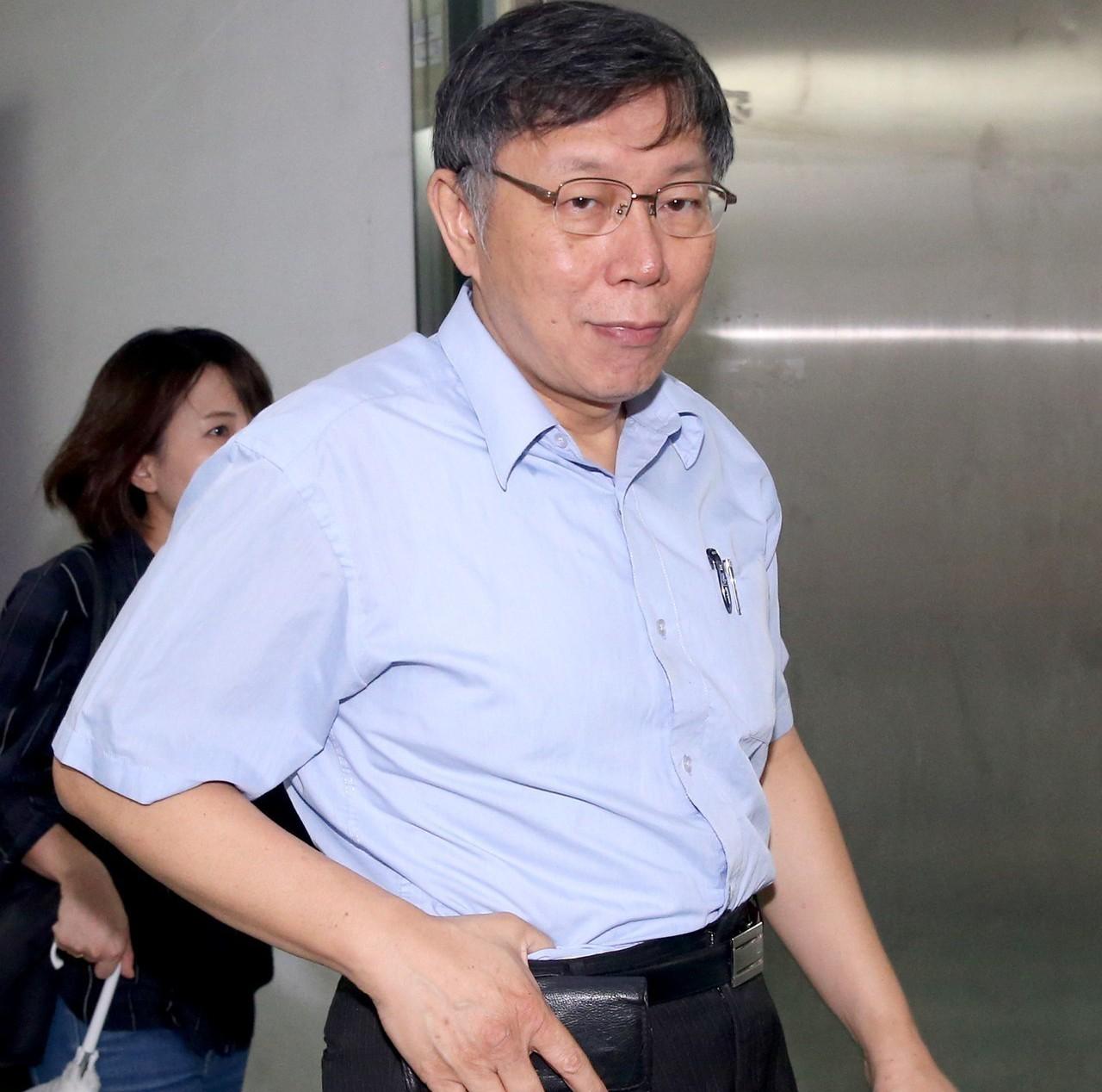 台北市長柯文哲。記者余承翰/攝影