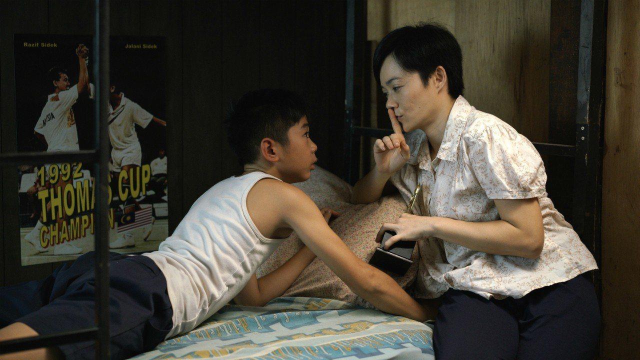 金馬獎女配角楊雁雁在《李宗偉:敗者為王》飾演李宗偉慈母。 FOX體育台提供