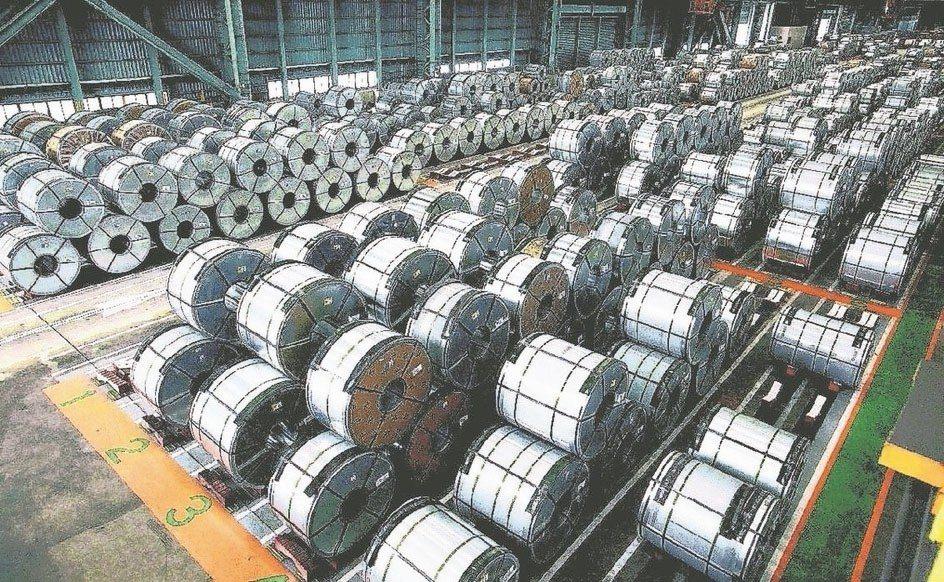 美國針對進口鋼鋁課徵高關稅,造成美國境內鋼鋁價格飆漲,對鋼鐵族群有利。 本報系資...