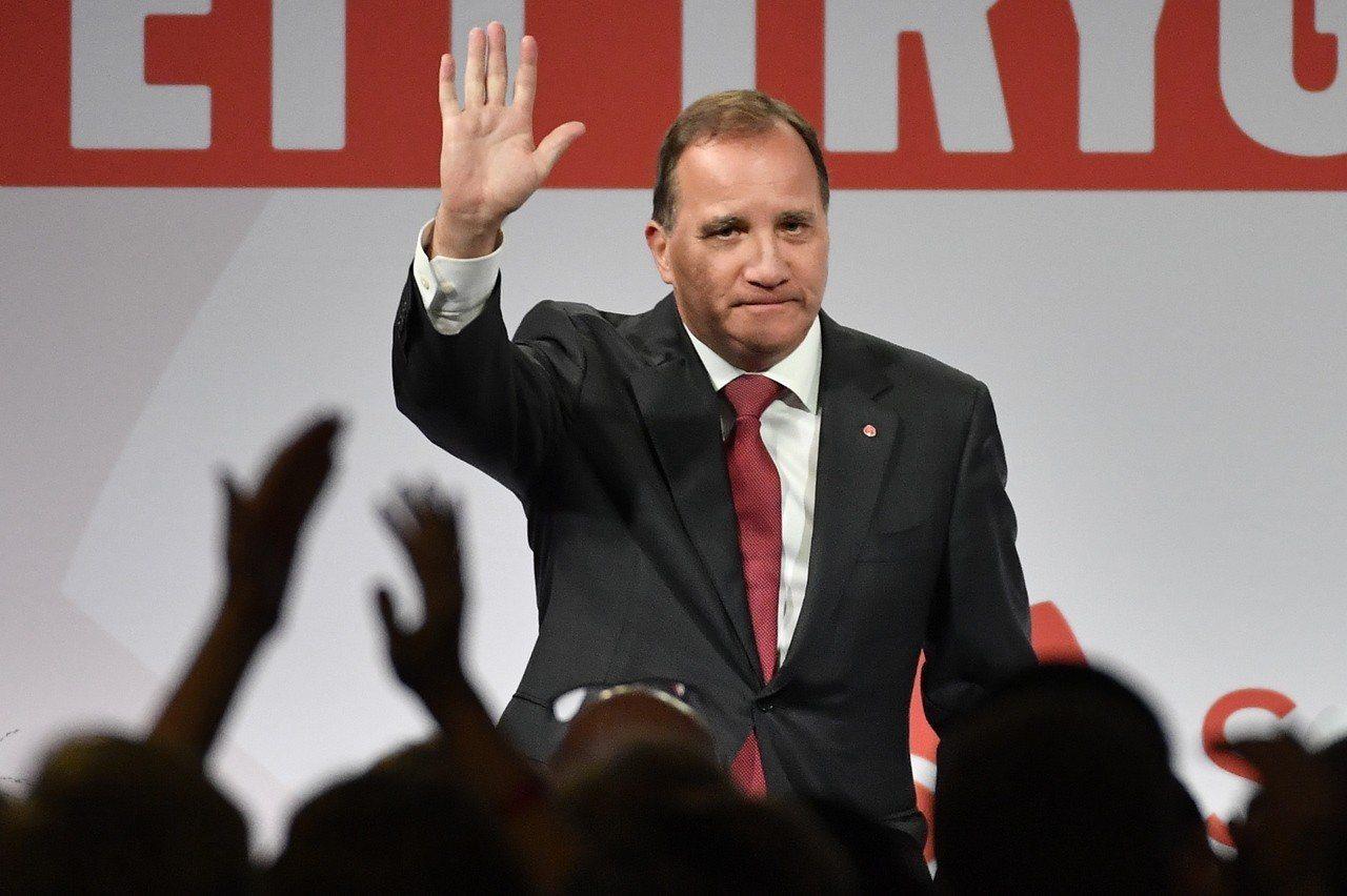瑞典總理陸維恩(Stefan Lofven)所屬的社會民主黨仍是第一大黨。 歐新...